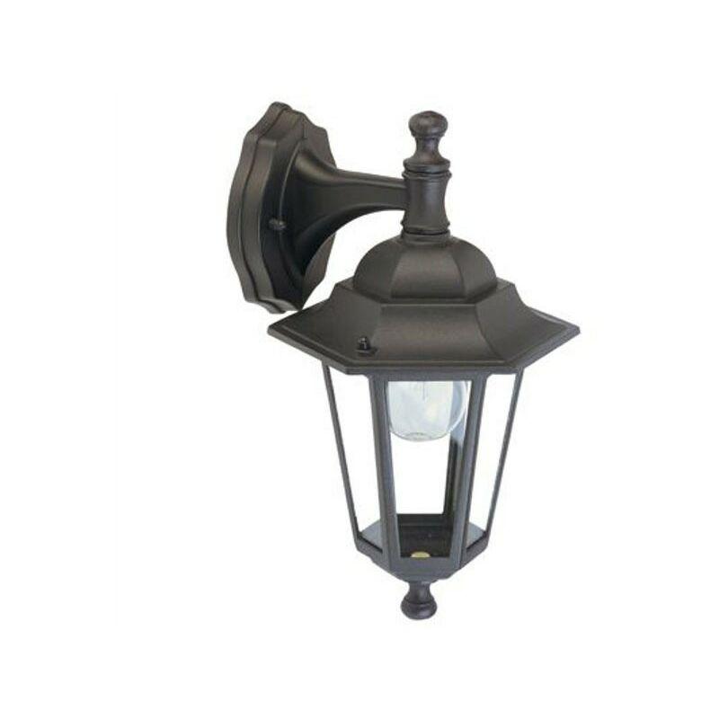 Lanterna da Esterno Lampione a Parete da Giardino Applique da Muro Alluminio