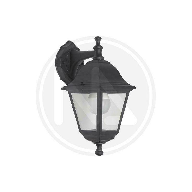 Lanterna da giardino charme mini alta o bassa papillon cm 20x33h nero