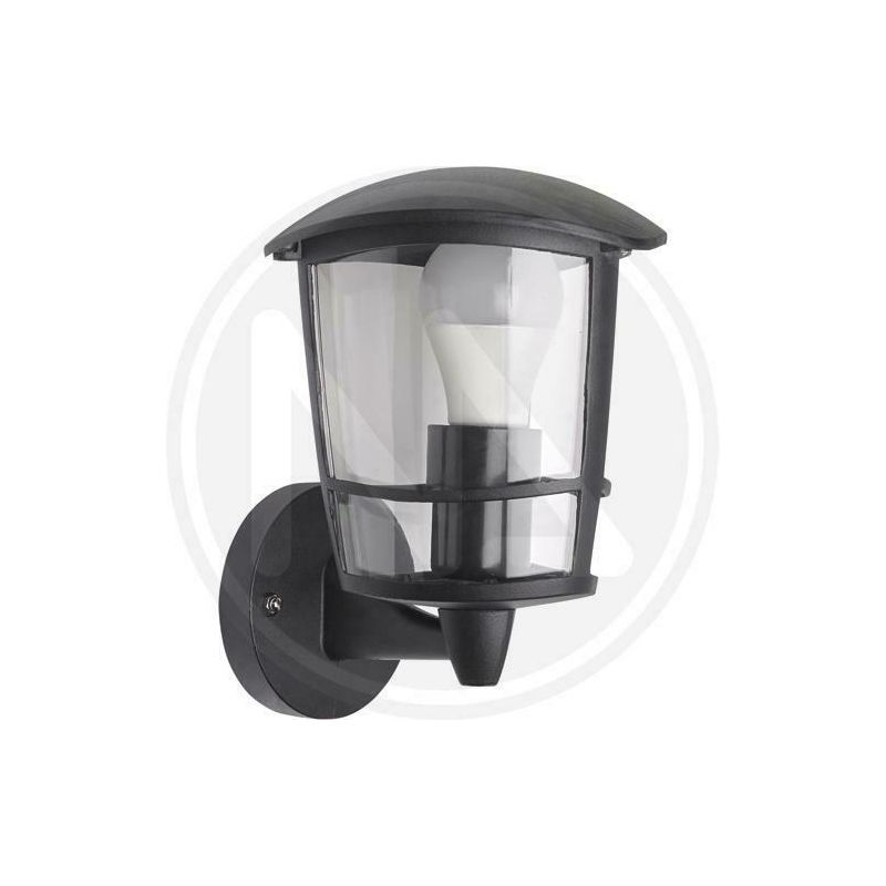 Lanterna da giardino cozy mini alta o bassa cm 19x23h nero - Papillon