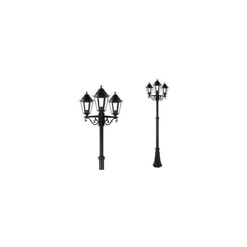 Lampada ESTERNO LANTERNA VERDE solare 25,5cm LED Terrazze Lampada Giardino Illuminazione
