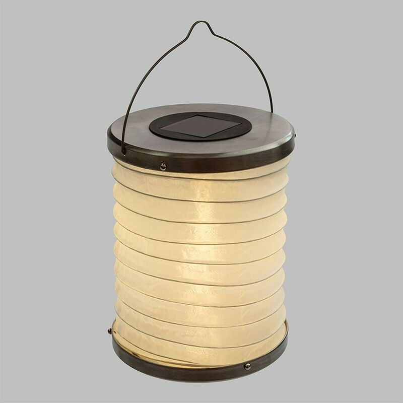 Lanterna solare cilindrica IP44 - LOTTI