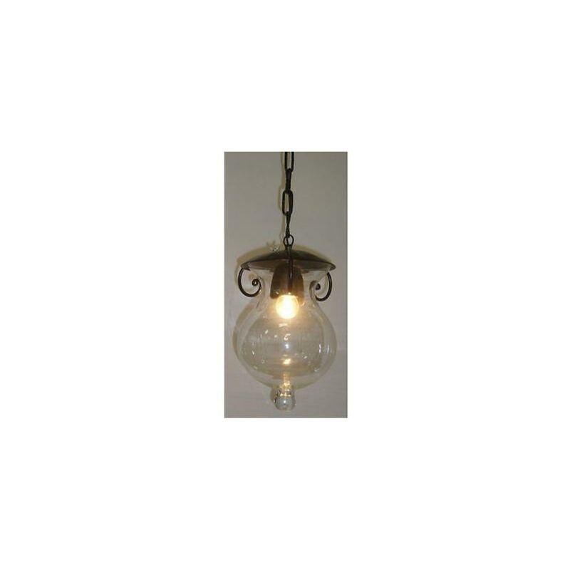 Lanterna sospesa a catena goccia d20 lampade lampione applique lanterne
