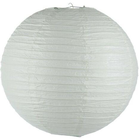"""main image of """"Lanterne Boule en Papier Générique 45cm Blanc"""""""