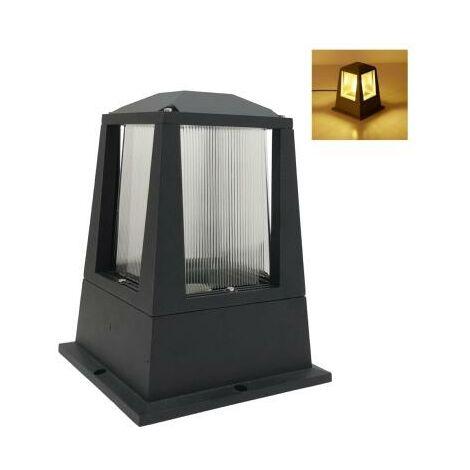 Lanterne Extérieure Noire Ampoule E27