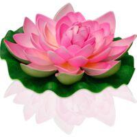 Lanterne Flottante Lotus Natural Rose - Rose Pâle