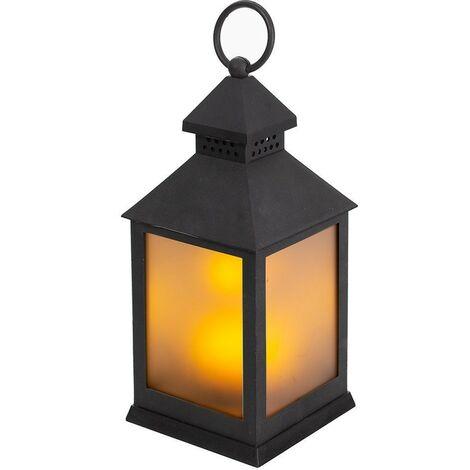 Lanterne LED effet flamme