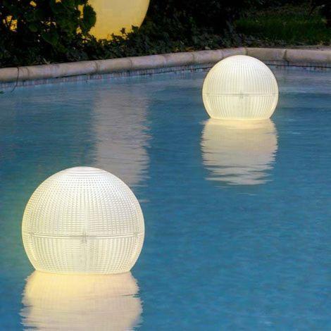 Lanterne Led Solaire lampe flottante à sphère GLOBE