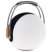 Lanterne portable LED SONOLUX - blanc et multicolor - haut parleur bluetooth