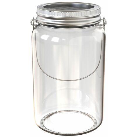 Lanterne solaire LED lampe solaire éclairage déco festif verre table jardin balcon
