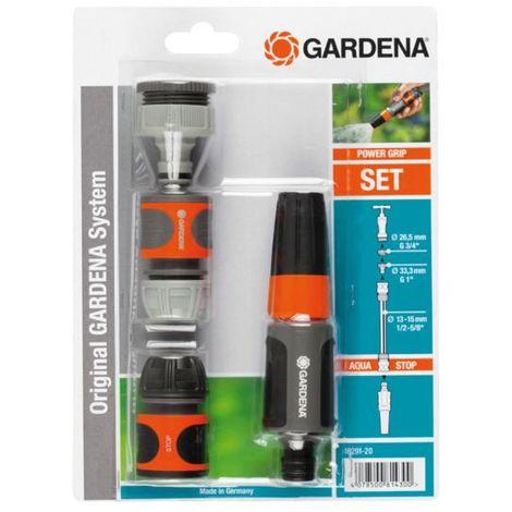 Lanza riego + conectores gardena. kit completo de riego. - talla