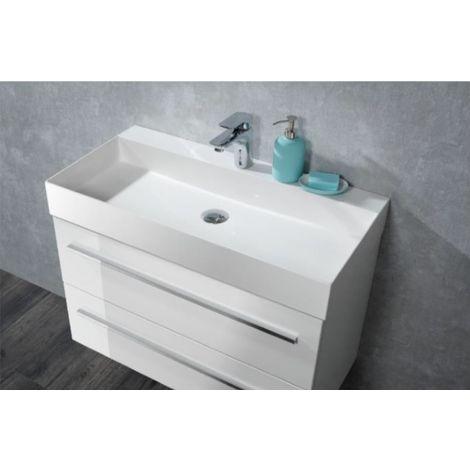 Lanzet Lz180 Waschplatz Set Komplettset Waschtisch Mit
