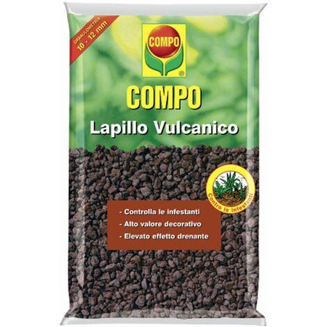 Lt 33 lapillo vulcanico rosso pacciamante naturale per piante e vasi