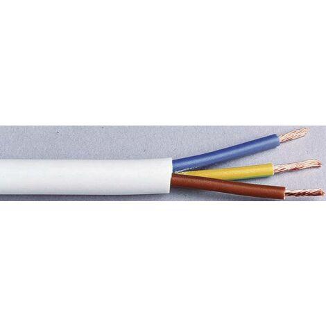 LAPP 1601204 Schlauchleitung H03VV-F 3G 0.75mm² Schwarz 10m X70829