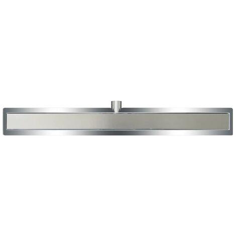 L'Aqua Deluxe Linear Shower Drain 90 cm Stainless Steel