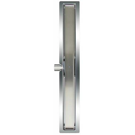 L'Aqua Desagüe lineal de ducha baldosa 70 cm acero inoxidable