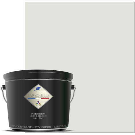 """main image of """"Laque acrylique satin – meubles, bois, murs et plafonds - 1 ltr Blanc - Ecce homo"""""""