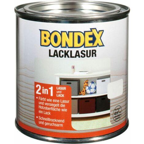 Laque Bondex blanc 0,375 l - 352571