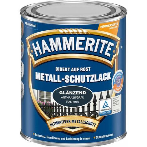 Laque de protection métallique 750 ml anthracite (Par 3)