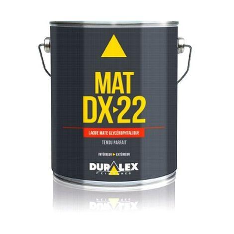Laque DURALEX DX 22 glycéro Mat BLANC