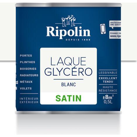 Laque Glycéro Déco pour Intérieur & Extérieur, Satin Ripolin