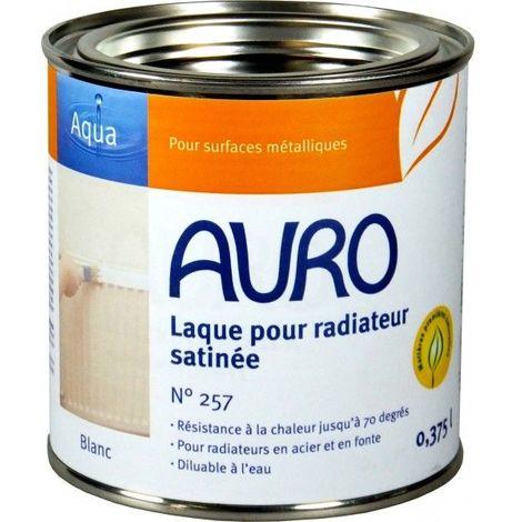 Laque pour radiateur, demi-mate n° 257 - AURO (Volume : 2,5 litres)