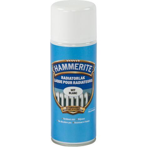 Laque radiateur Hammerite Blanc - 400ml