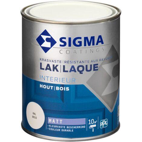 Laque Sigma Blanc pur Mat - 750ml