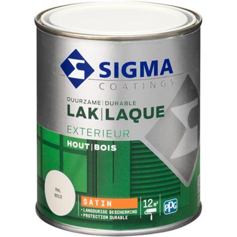 Laque Sigma Blanc pur Satin - 750ml