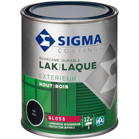 Laque Sigma Bleu Acier Brillant - 750ml