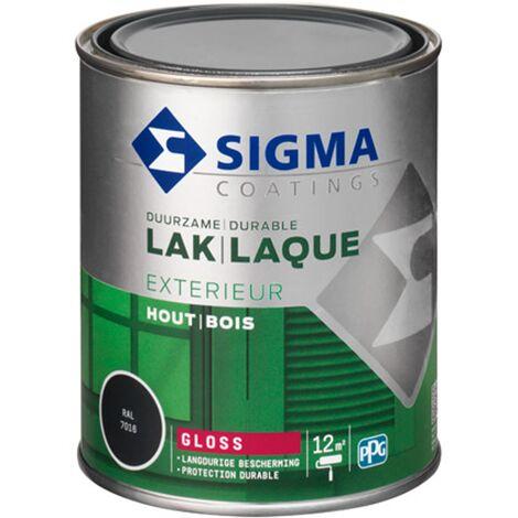 Laque Sigma Gris Anthracite Brillant - 750ml