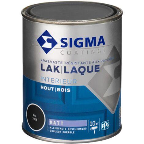 Laque Sigma Gris Anthracite Mat - 750ml