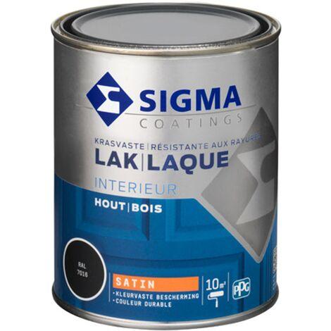 Laque Sigma Gris Anthracite Satin - 750ml
