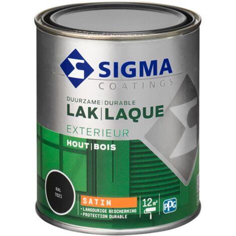 Laque Sigma Gris Noir Satin - 750ml