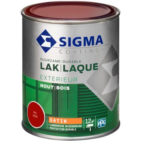 Laque Sigma Rouge vin Satin - 750ml
