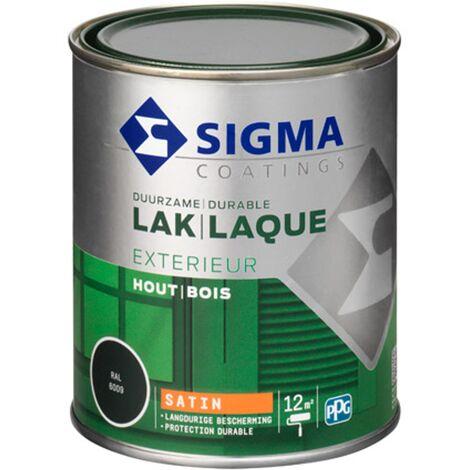 Laque Sigma Vert sapin Satin - 750ml