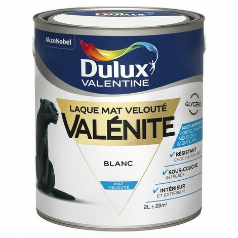 Laque Valénite - mat - 2L DULUX VALENTINE - plusieurs modèles disponibles