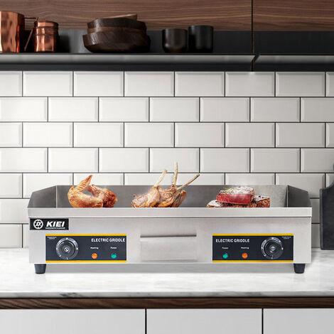 Large 73cm Electric Griddle / BBQ Griddle / Countertop Griddle / Commercial Griddle