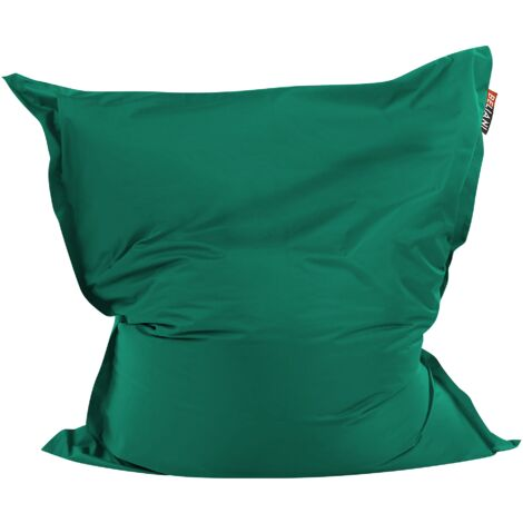 Large Bean Bag 140 x 180 cm Green