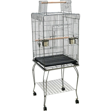 Large Bird Cage Small Birds Finch Canary Cockatiel Budgie Parakeet Parrot Cages