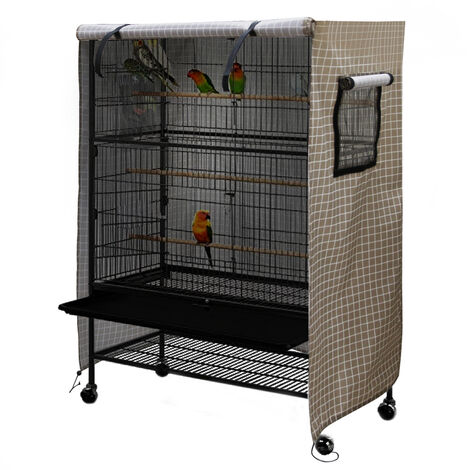 """main image of """"Large birdcage cover, washable birdcage wind and dust cover"""""""
