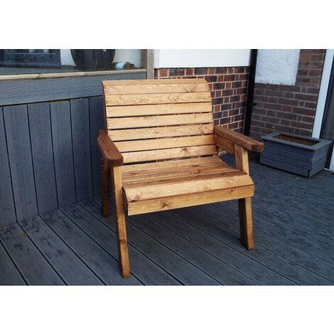 Large Chair, wooden garden chair, fully assembled