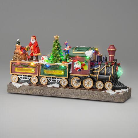 Large Christmas Train Scene