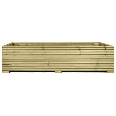 Large Decking Wooden Garden Planter Wood Trough Handmade Box - 1.8m