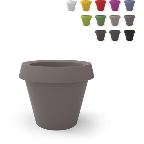 Large design plant vase pot SLIDE GIO TONDO