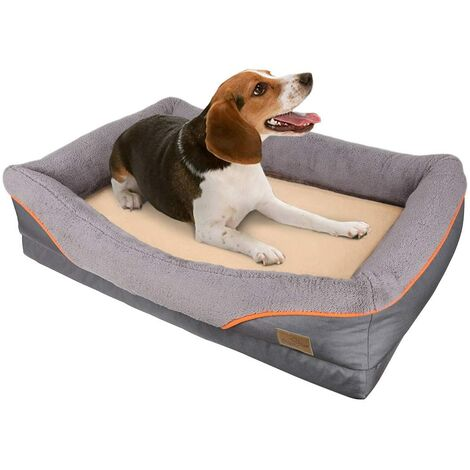 Large Dog Bed Soft Pet Couch Sofa Cushion Warm Basket Pillow Waterproof