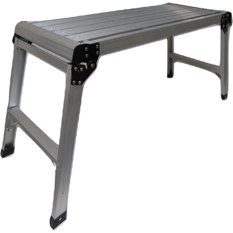 Large Folding Portable Work Platform - Ladder Step Painting