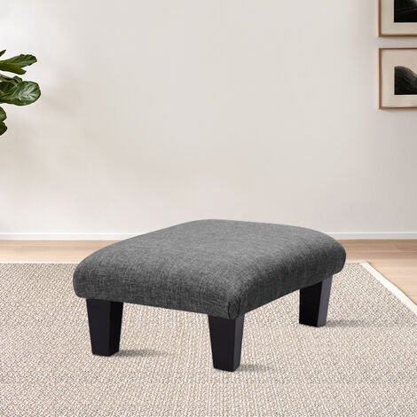 Large Foot Rest Pouffe Stool Padded Seat Ottoman Footstool Chair Sofa Bench Stools