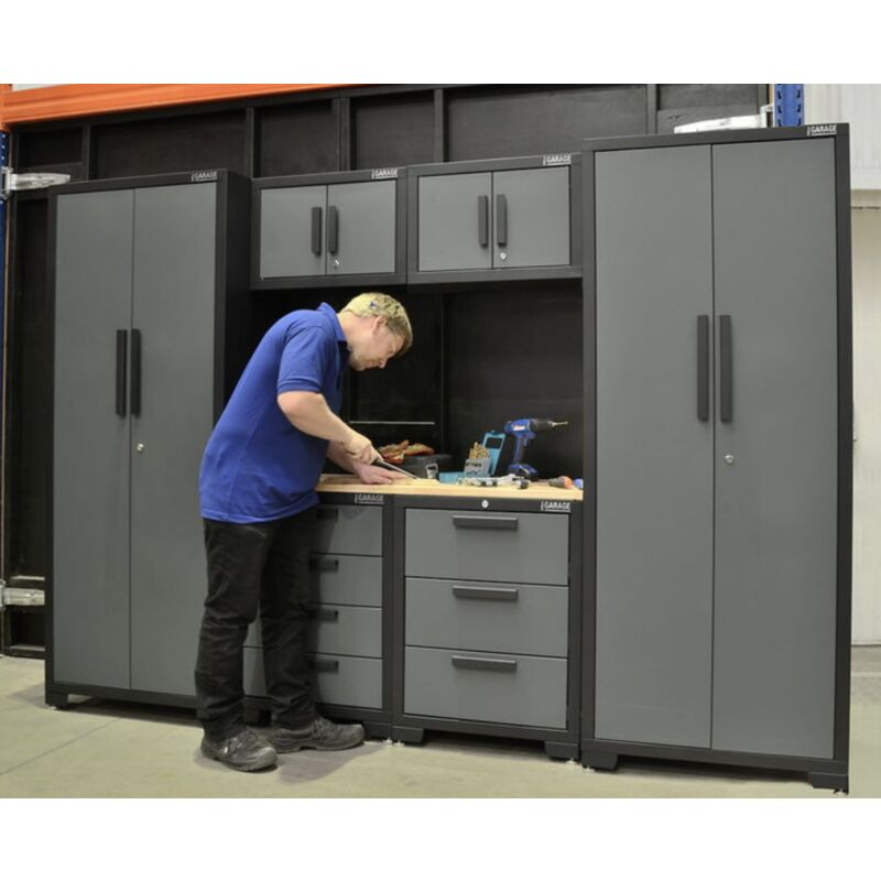 Garage Work Metal Storage Cupboards