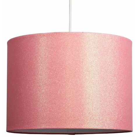 Large Glitter Drum Ceiling Pendant/Table Lamp Shade