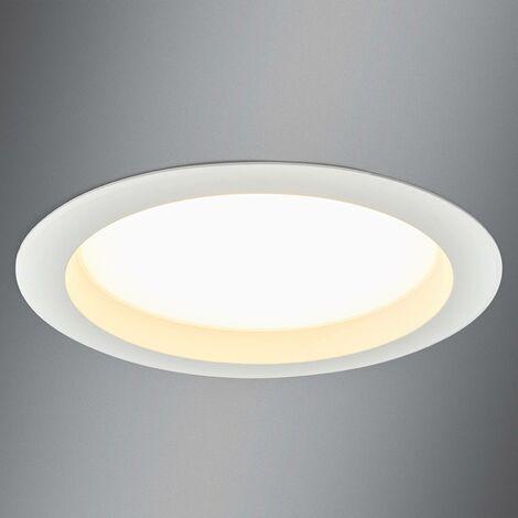 Large LED recessed spotlight Arian, 24.4 cm, 22.5W